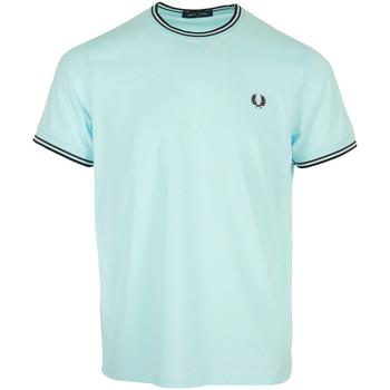 Abbigliamento Uomo T-shirt maniche corte Fred Perry Twin Tipped T-Shirt Blu