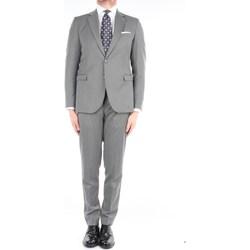 Abbigliamento Uomo Completi Mark Midor CHELSEA-AB7200 Eleganti Uomo Grigio Grigio