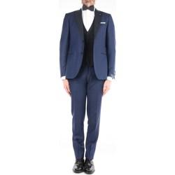 Abbigliamento Uomo Completi Lardini EG-76725Q-E52313 Eleganti Uomo Blu Blu