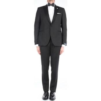 Abbigliamento Uomo Completi Lardini EG-76754P-E52316 Eleganti Uomo Nero Nero