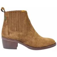 Scarpe Donna Stivaletti Dakota Boots Stivaletto Texano Camoscio Camel Altri