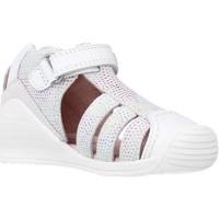 Scarpe Bambina Sandali Biomecanics 212116 Bianco