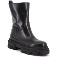 Scarpe Donna Stivaletti Aria Shoes Stivale C 13 Nero Nero