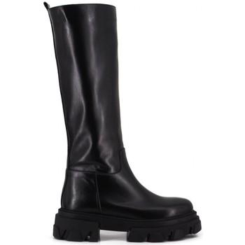 Scarpe Donna Stivali Aria Shoes Stivale Alto C 12 Nero Nero