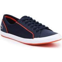 Scarpe Donna Sneakers basse Lacoste Lancelle Lace 6 Eye Blu marino