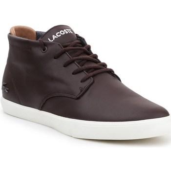Scarpe Uomo Sneakers alte Lacoste Espere Marrone