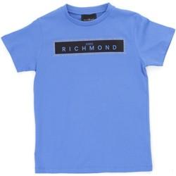 Abbigliamento Bambino T-shirt maniche corte Richmond Kids RBP21030TS Azzurro