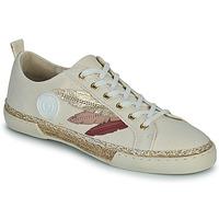 Scarpe Donna Sneakers alte Pataugas AUTHENTIQUE/T J2E Beige / Oro / Rosa