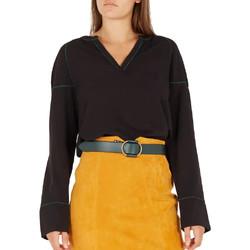 Abbigliamento Donna T-shirts a maniche lunghe Vila 14055117 Nero