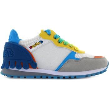 Scarpe Bambino Sneakers basse Lj Me Contro Te ME CONTRO TE sneakers basse WONDER 2 4B1001 EX119 S1070 (35) Bianco / arancio
