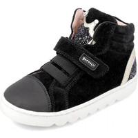 Scarpe Unisex bambino Sneakers alte Garvalin 191656 Nero