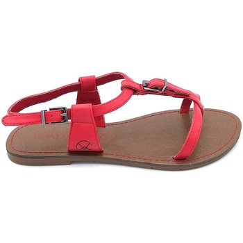 Scarpe Donna Sandali Chattawak Sandale 11-ZHOE Rouge Rosso