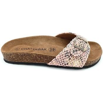 Scarpe Donna Ciabatte Chattawak Mule  11-OPALINE S.ABRICOT Arancio