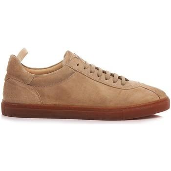 Scarpe Uomo Sneakers basse Pawelk's Scarpe Sneakers Uomo Pelle Sabbia 401 sabbia