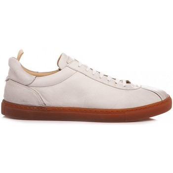 Scarpe Uomo Sneakers basse Pawelk's Scarpe Sneakers Uomo Pelle Bianco 401 bianco