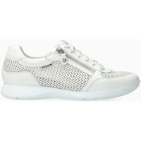Scarpe Donna Sneakers basse Mephisto MOLLY PERF Bianco