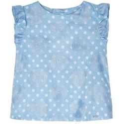 Abbigliamento Bambina Camicie Mayoral  Azul
