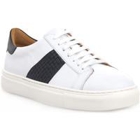 Scarpe Uomo Sneakers basse Soldini COLORADO BIANCO BLU Bianco
