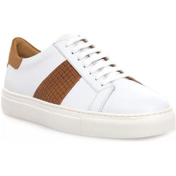 Scarpe Uomo Sneakers basse Soldini COLORADO BIANCO CUOIO Bianco