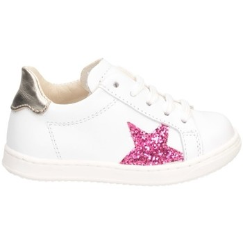 Scarpe Bambina Sneakers basse Gioiecologiche 5557 Bianco/fucsia