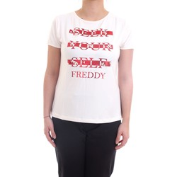 Abbigliamento Donna T-shirt maniche corte Freddy S1WSLT6 T-Shirt Donna latte latte