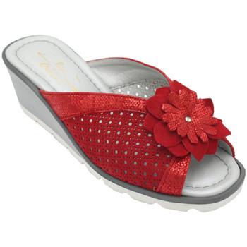 Scarpe Donna Ciabatte Angela Calzature ANSANGC1725ros rosso