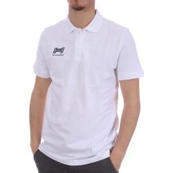 Abbigliamento Uomo Polo maniche corte Hungaria H-16TOMYD000 Bianco