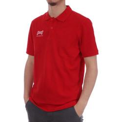 Abbigliamento Uomo Polo maniche corte Hungaria H-16TOMYD000 Rosso