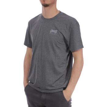 Abbigliamento Uomo T-shirt maniche corte Hungaria H-15TPUXB000 Grigio