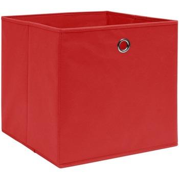 Casa Cestini, scatole e cestini VidaXL Scatola portaoggetti Rosso