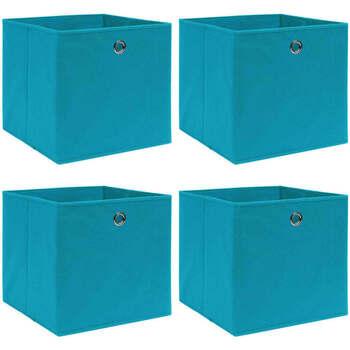 Casa Cestini, scatole e cestini VidaXL Scatola portaoggetti Blu