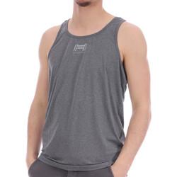 Abbigliamento Uomo Top / T-shirt senza maniche Hungaria H-16TPUXA000 Grigio