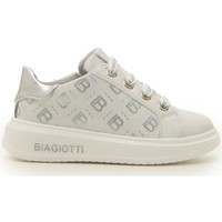 Scarpe Bambina Sneakers Laura Biagiotti LAURA B. 70632 BIANCO