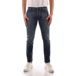Abbigliamento Uomo Jeans slim Roy Rogers P21RRU006D0210005 BLU