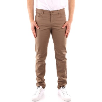 Abbigliamento Uomo Pantaloni 5 tasche Trussardi 52J00007 1Y000163 BEIGE