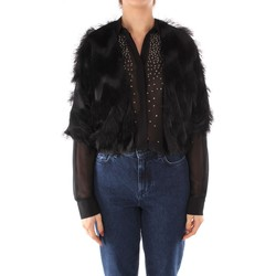 Abbigliamento Donna Gilet / Cardigan Emme Marella TEULADA NERO
