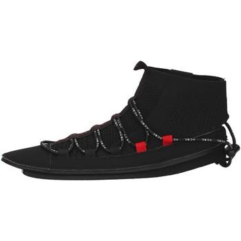 Scarpe Donna Sneakers alte Acbc SKLA107 NERO