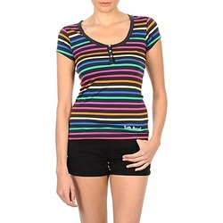 Abbigliamento Donna T-shirt maniche corte Little Marcel TATUM Nero / Multicolore