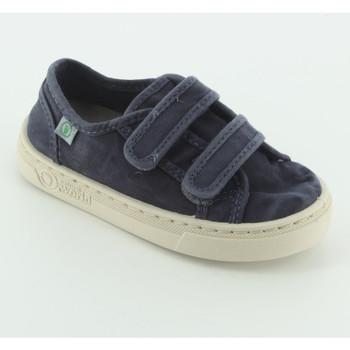 Scarpe Bambino Sneakers Natural World 6471E sneaker tessuto velcro Blu