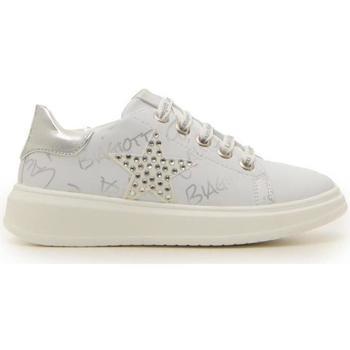 Scarpe Bambina Sneakers Laura Biagiotti LAURA B. 70652 BIANCO