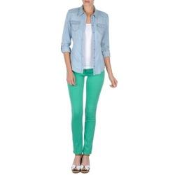 Abbigliamento Donna Pantaloni 5 tasche Cimarron CASSIS Verde