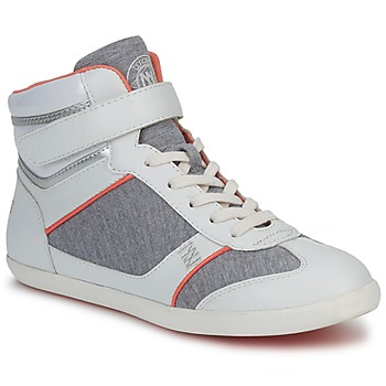 Scarpe Donna Sneakers alte Dorotennis MONTANTE VELCRO Grigio