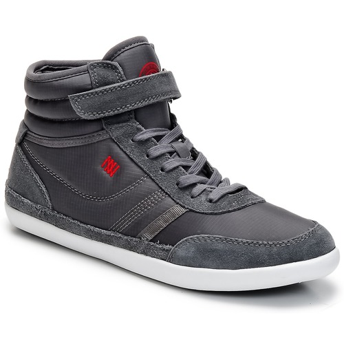 Dorotennis MONTANTE STREET VELCROS Grigio  Scarpe Sneakers alte Donna 30