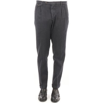 Abbigliamento Uomo Chino Briglia BG02-320528 Blu notte