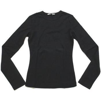 Abbigliamento Donna T-shirts a maniche lunghe Gas ATRMPN-25469 Nero