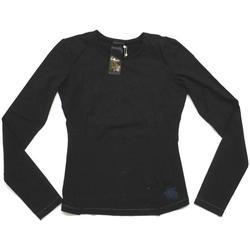 Abbigliamento Unisex bambino T-shirts a maniche lunghe Garr&co ATRMPN-25470 Nero