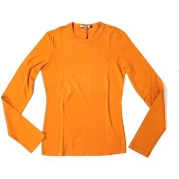 Abbigliamento Donna T-shirts a maniche lunghe Garr&co ATRMPN-25471 Arancio