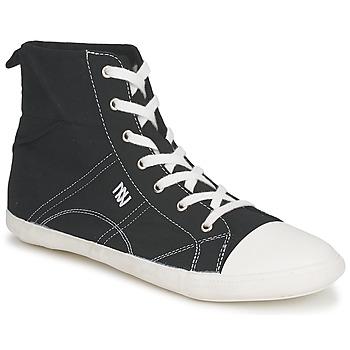 Scarpe Donna Sneakers alte Dorotennis MONTANTE LACET INSERT Nero