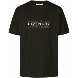 Abbigliamento Uomo T-shirt maniche corte Givenchy maniche corte BM70SS3002 - Uomo nero