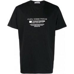 Abbigliamento Uomo T-shirt maniche corte Givenchy maniche corte BM70SC3002 - Uomo nero